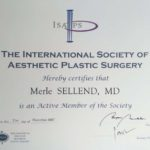 ISAPS member from 2007