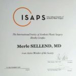 ISAPS active member until 2020